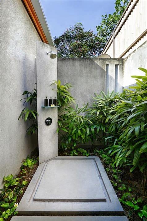 bellisimas  inspiradoras duchas de exterior outdoor
