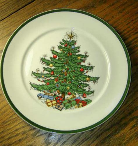 cuthbertson china dinner plate the original christmas