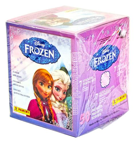 Box Of Frozen Stickers