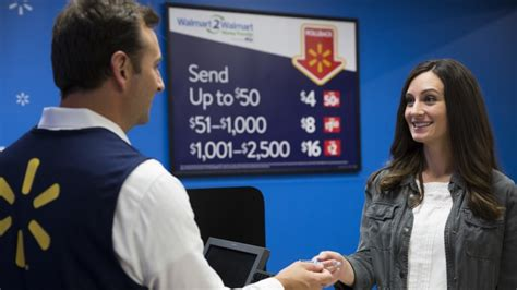walmart customer service desk walmart slashes prices again on domestic money transfers
