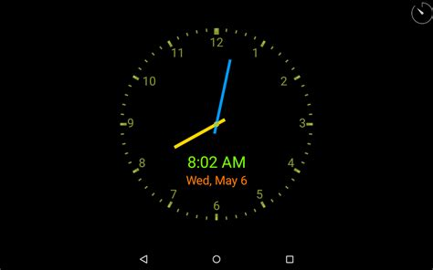 clockview always on clock appstore for android