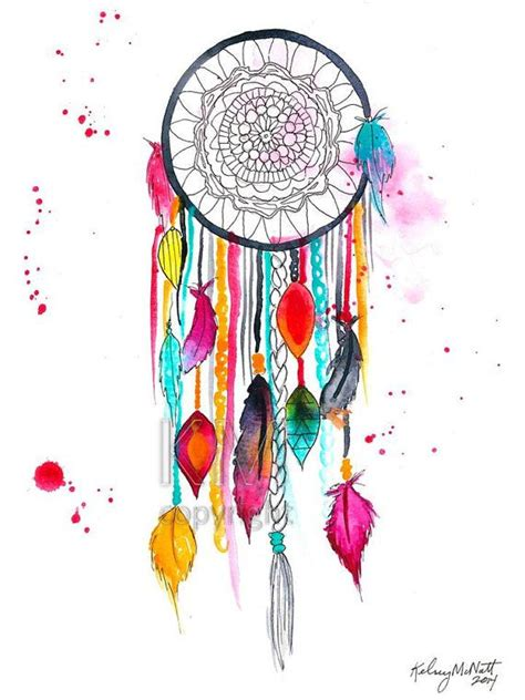 watercolor tattoos okc best 25 watercolor dreamcatcher ideas on