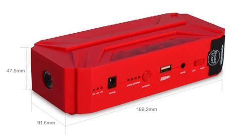 aili 12v 16v 19v output led pc mobile power bank popular unique car accessories 16500mah 19v 16v 12v output