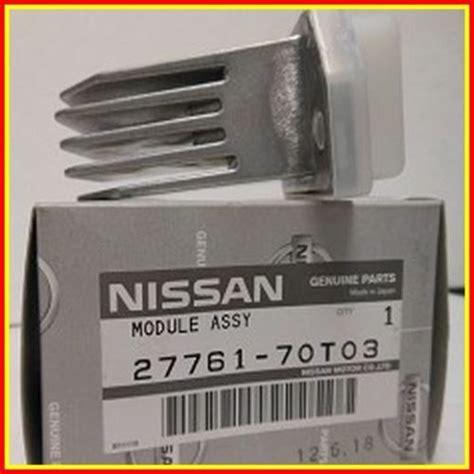 2002 infiniti qx4 blower motor resistor genuine nissan pathfinder infiniti qx4 aircon blower motor resistor module oem jdm planet