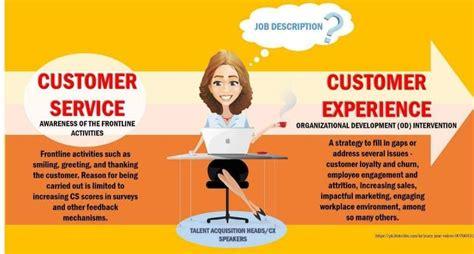customer experience vs customer service linkedin