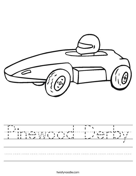 finnegan and the pinewood derby car race books pinewood derby worksheet twisty noodle