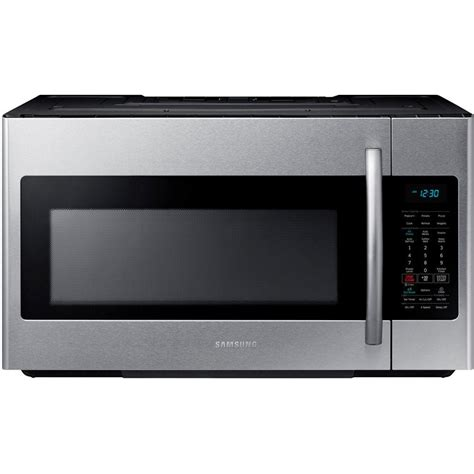 samsung 30 in w 1 8 cu ft the range microwave in
