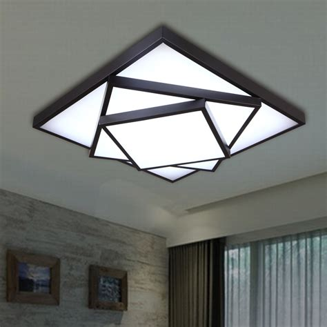 aliexpress buy square led ceiling light modern brief