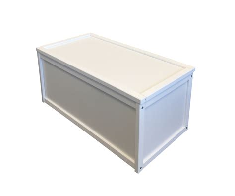 white storage chest bench new white wooden toy box storage unit childrens kids chest