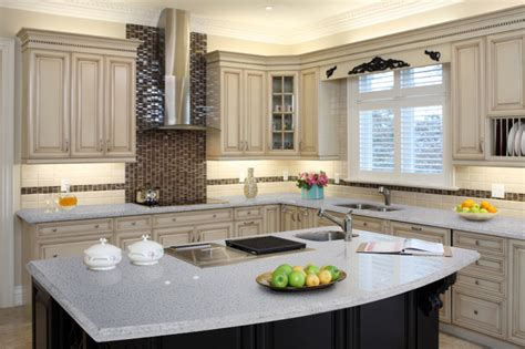 white kitchen countertops iced white kitchen countertops other metro by m s international inc