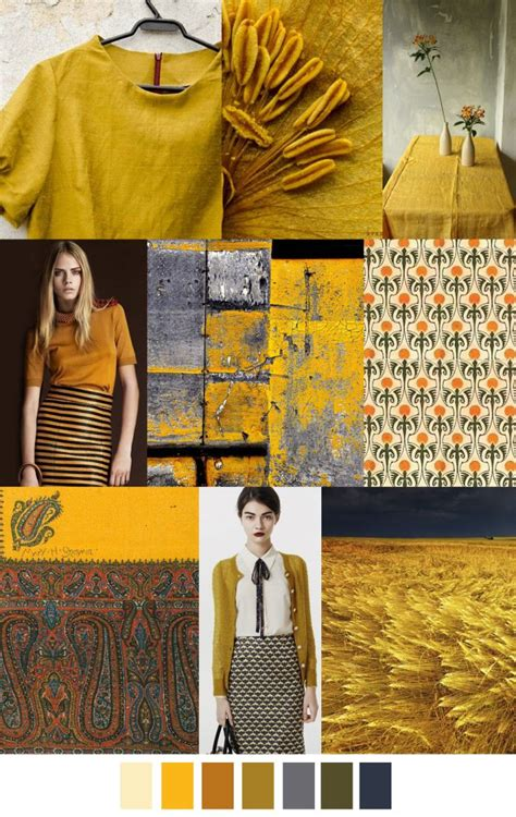 2017 fashion color f w 2017 women s colors trend saffron spice trends