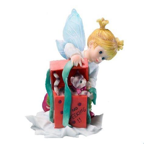 my kitchen fairies entire collection seasonal decor1 enesco my kitchen fairies fairie with present figurine 3 875 inch