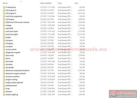 download car manuals pdf free 2010 ford f series free book repair manuals ford f150 2001 service manual pdf download autos post