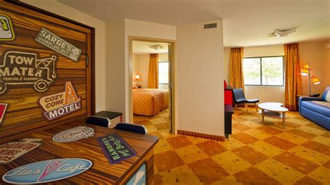 Of Animation Resort Cars Room by New Look Of Disney Value Disney S Of