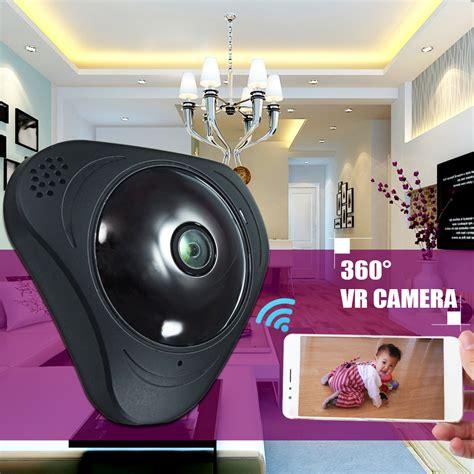 Vr Ip 3d 360 Fisheye Hd Bonus Adaptor 2a 3d vr wifi 360 degree panoramic fisheye 960p wireless indoor security alex nld