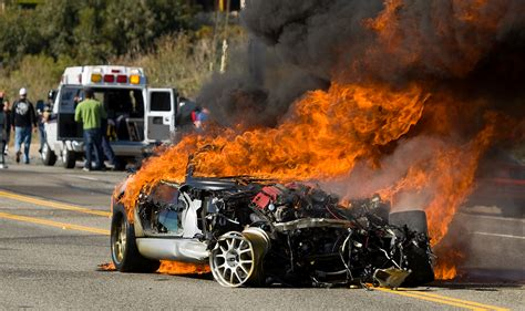 Pch Traffic Now - 3 hurt in fiery wreck along pch in malibu racing may be to blame 171 cbs los angeles