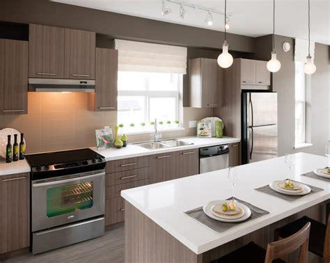 cuisine blanche avec ilot central agr 233 able plan de cuisine moderne avec ilot central 2
