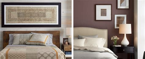 above bed decor stylish above the bed decor ideas crate and barrel