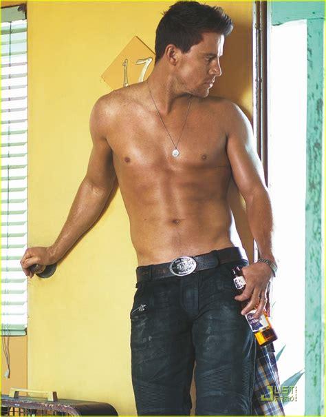 channing tatum insists he never channing tatum shirtless neversaynever0304
