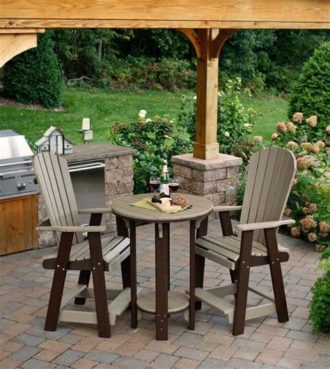 amish pub table and chairs poly pub table and chair set from dutchcrafters amish