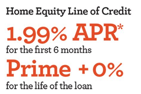 home equity line of credit offer