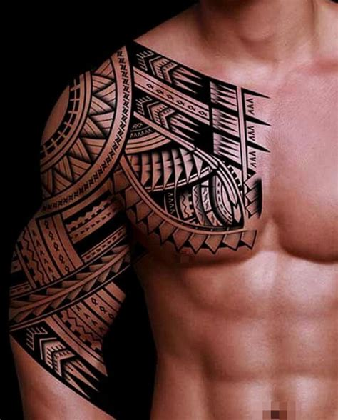 top 10 creative tribal tattoos for men