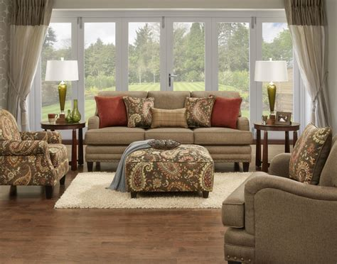 living room groups fusion furniture 5960 stationary living room group