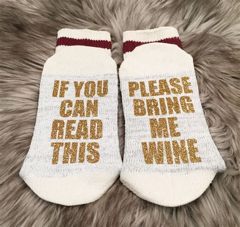 socks with sayings 38 best if you can read this socks images on