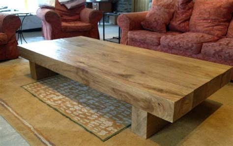 Large Oak Coffee Table Rustic Coffee Tables Crafted From Abacus Tables