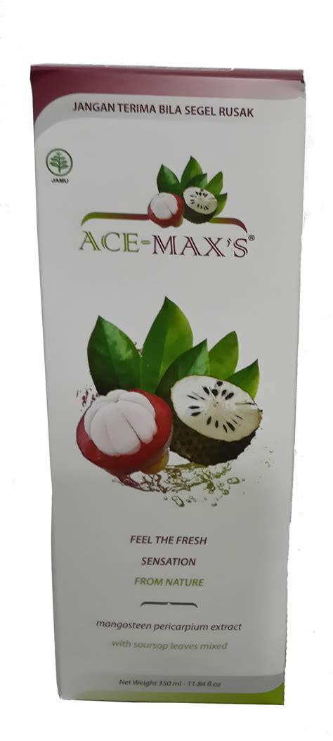 Ace Max Termurah toko tempat penjual ace maxs ekstrak kulit manggis daun
