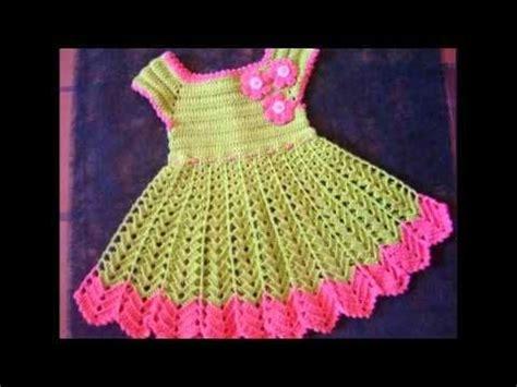 como hacer un vestido tejido vestidos de bebes a crochet youtube tejidos en crochet