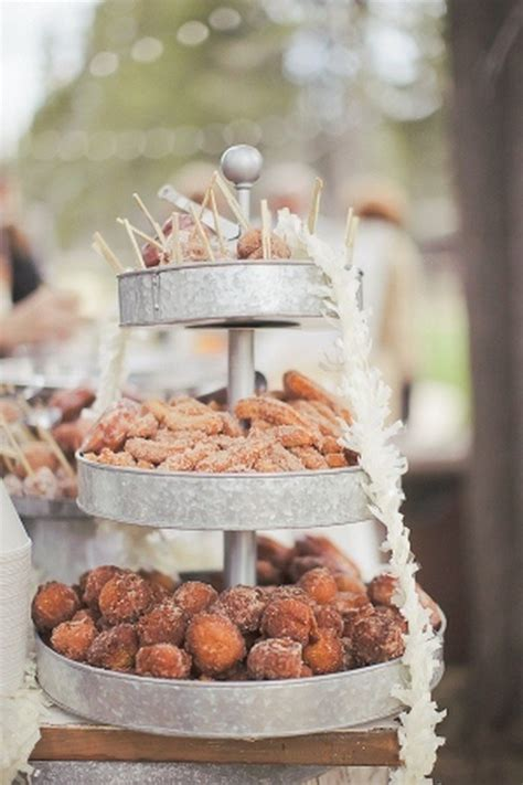 outdoor display ideas trending 20 wedding donuts display ideas oh best