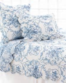Shabby Chic Bedspread by Blue Toile Bedding Summer Home Pinterest