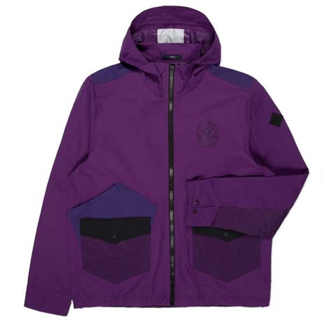 Dpurple Coat Blazer Ungu Korea Jaket paul smith s purple water resistant hooded jacket in purple for lyst