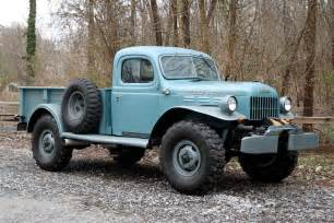 hemmings find awesome 1949 dodge power wagon road