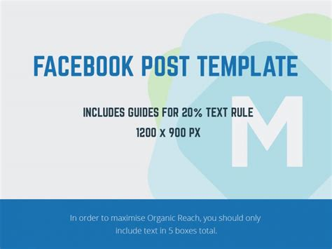 Facebook Post Template Psd Mockup Templates Post Template