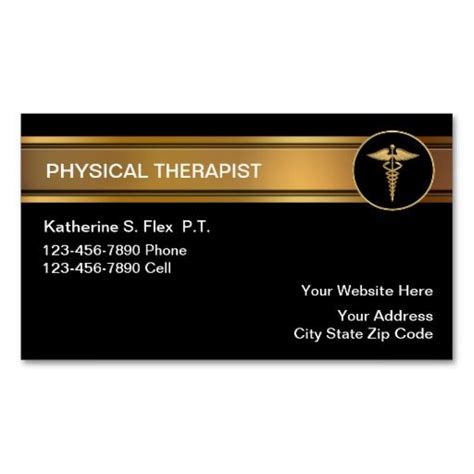 therapy trading cards template 17 best images about physical therapist business cards on