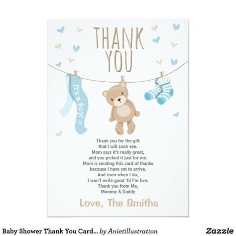 Thank You Card Ideas For Baby Shower by Best 25 Baby Shower Thank You Ideas On Baby