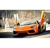 2014 Lamborghini Aventador Sports Cars Background Hd