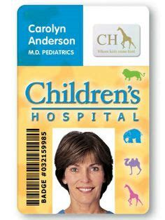medical id card design id cards badges by fargo card printers on pinterest