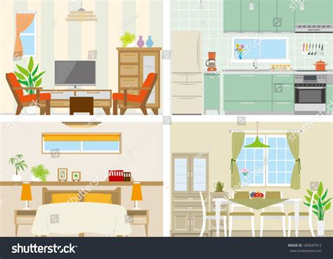 image of a room illustration of room 189047912