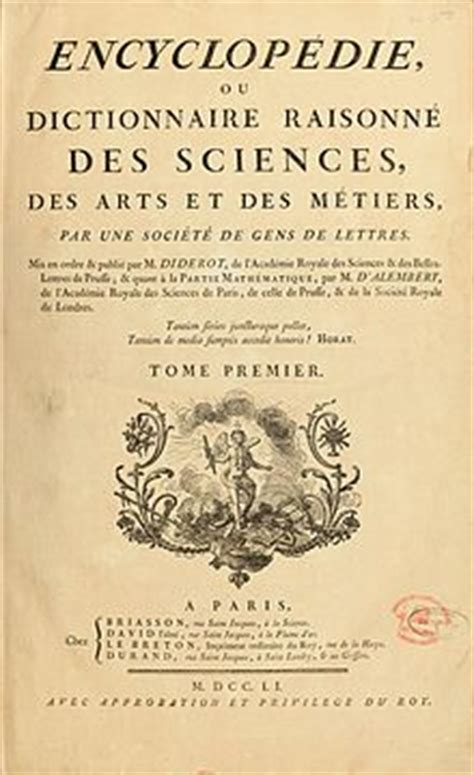 enciclopedie illuminismo illuminismo
