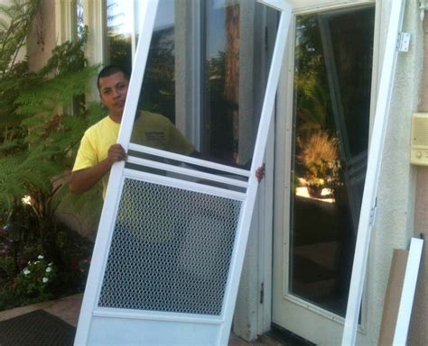 Screen Door Installation by Screen Doors Window Screen Repair Mobile Screen Service Econo Screens