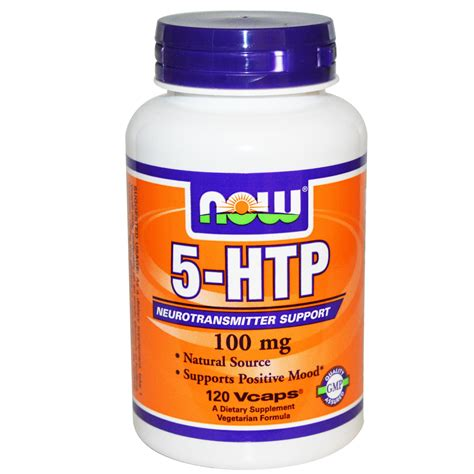 supplement htp now foods 5 htp 100 mg 120 vcaps iherb
