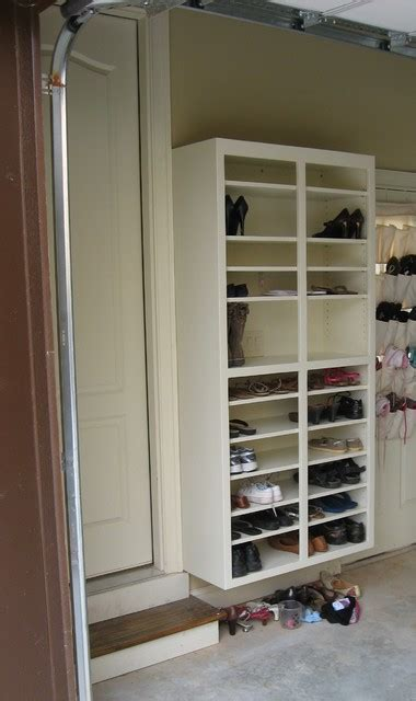Garage Shoe Racks by Shoe Rack Traditional Garage And Shed Atlanta By