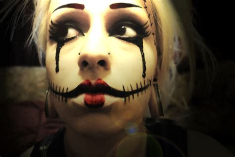 trucco halloween idee beautydea halloween idee make up the shade of fashion