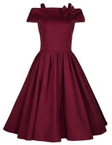 Vintage 1950 s swing party prom dress fashion clicks
