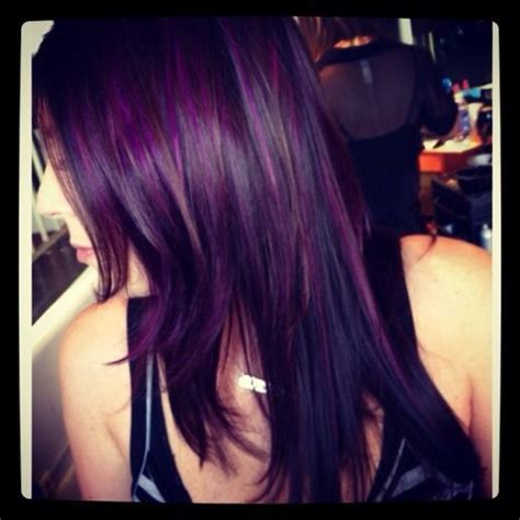 burgandypurple 2015 hair pieces of burgundy violet and purple haze over a cool