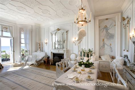 swedish decor swedish gustavian living room traditional living room