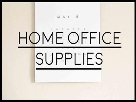 necessities for a new home ranked list of office supplies for a new home home